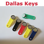 Dallas Key Fobs for staff login
