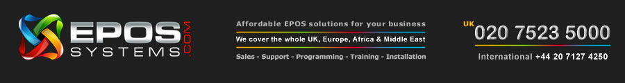 EPoS Systems UK - electronic point of sale systems