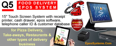 Q5 Food / Pizza Delivery EPoS System