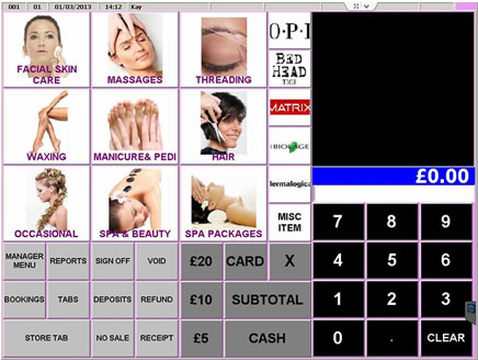 Touch EPoS Software - screenshot