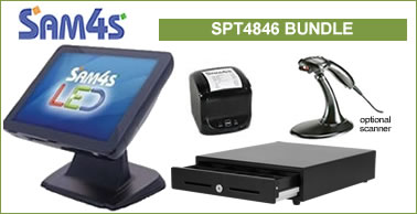 sam4s spt-4846 touch screen bundle= special offer