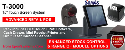 SPT-3000 Retail Shop EPoS System