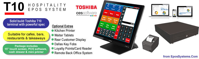 T10 Restaurant Bar & Nightclub EPoS System